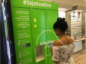 Armário inteligente HandOver - shopping Frei Caneca